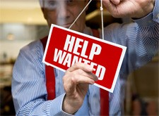 "Hanging the ""Help Wanted"" Sign"