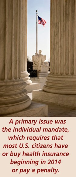 Landmark Decision: The Supreme Court and the Affordable Care Act